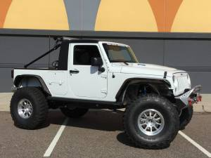 "JEEP - JEEP WRANGLER JK (2007-2018) - HCP 4x4 Vehicles - 2014 JEEP JKUR HCP4X4 ""ACTION"" CUSTOM TRUCK BUILD"