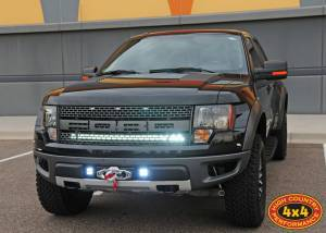 FORD - FORD RAPTOR 1ST GENERATION (2010-2014) - HCP 4x4 Vehicles - 2012 FORD RAPTOR RIGID INDUSTRIES CUSTOM LED LIGHTING AND BAK INDUSTRIES TONNEAU COVER (BUILD#47367)