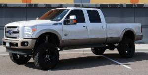 "HCP 4x4 Vehicles - 2012 FORD F350 SUPER DUTY 8"" SUPERLIFT 4 LINK SUSPENSION LIFT 37"" Toyo M/T TIRES (BUILD #49915/78665) - Image 2"