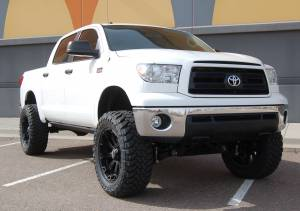 "2012 TOYOTA TUNDRA BDS 7"" SUSPENSION LIFT WITH 37"" TOYO OPEN COUNTRY M/T TIRES (BUILD #49970/46997)"