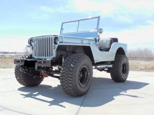 Jeep - Jeep Flattys - HCP 4x4 Vehicles - FLAT FENDER BUILD