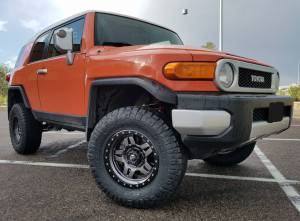 "TOYOTA - TOYOTA FJ CRUISER (2007-2014) - HCP 4x4 Vehicles - 2014 TOYOTA FJ CRUISER TOYTEC LIFTS 3"" ULTIMATE COIL OVER SUSPENSION LIFT"