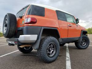 """2014 TOYOTA FJ CRUISER TOYTEC LIFTS 3"""" ULTIMATE COIL OVER SUSPENSION LIFT"""