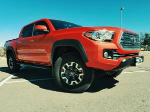 2017 TOYOTA TACOMA TRD SHROCKWORKS ROCK SLIDERS (BUILD#81752)