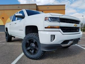 "GMC / CHEVROLET - CHEVY / GMC 1500 PICKUPS (2014-2018) - HCP 4x4 Vehicles - 2016 CHEVY 1500 ZONE OFFROAD 4.5"" SUSPENSION LIFT (BUILD#83078)"