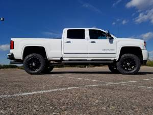 "HCP 4x4 Vehicles - 2016 GMC Sierra HD2500 Fabtech 4"" Suspension Lift w/DIrt Logic Shocks and Fabtech UCA's (BUILD#80383) - Image 7"