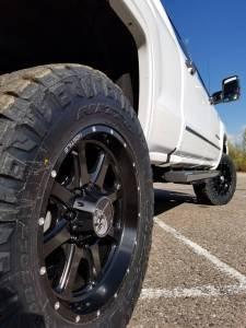 "HCP 4x4 Vehicles - 2016 GMC Sierra HD2500 Fabtech 4"" Suspension Lift w/DIrt Logic Shocks and Fabtech UCA's (BUILD#80383) - Image 9"
