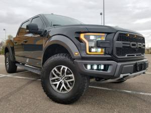 FORD - FORD RAPTOR 2ND GENERATION (2017+) - HCP 4x4 Vehicles - 2017 Ford Raptor Rigid Industries LED lighting (BUILD#83702)