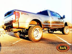 HCP 4x4 Vehicles - 2017 FORD F350 CUSTOM FABTECH 8 COILOVER SUSPENSION W/ FUEL FORGED WHEELS ON NITTO TRAIL GRAPPLERS (BUILD#83590) - Image 3