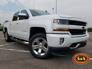 GMC / CHEVROLET - CHEVY / GMC 1500 PICKUPS (2014-2018) - HCP 4x4 Vehicles - 2017 CHEVY 1500 Z71 BILSTEIN RIDE HEIGHT ADJUSTABLE (RHA) LEVELING STRUTS (BUILD#83046)