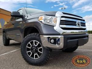 2017 TOYOTA TUNDRA BILSTEIN RIDE HEIGHT ADJUSTABLE STRUTS WITH SPC UPPER CONTROL ARMS (BUILD#80764)