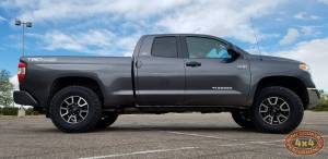 HCP 4x4 Vehicles - 2017 TOYOTA TUNDRA BILSTEIN RIDE HEIGHT ADJUSTABLE STRUTS WITH SPC UPPER CONTROL ARMS (BUILD#80764) - Image 3