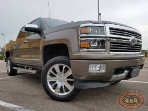 "GMC / CHEVROLET - CHEVY / GMC 1500 PICKUPS (2014-2018) - HCP 4x4 Vehicles - 2015 CHEVY SILVERADO 1500  HALO LIFTS 3"" BOSS ULTIMATE SUSPENSION LIFT (BUILD#82977)"