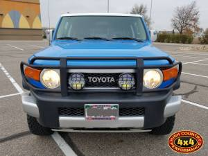 "2007 TOYOTA FJ CRUISER TOYTEC 3"" ULTIMATE LIFT KIT W/SPC PERFORMANCE UPPER CONTROL ARMS (BUILD#83821)"