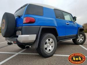 "HCP 4x4 Vehicles - 2007 TOYOTA FJ CRUISER TOYTEC 3"" ULTIMATE LIFT KIT W/SPC PERFORMANCE UPPER CONTROL ARMS (BUILD#83821) - Image 4"
