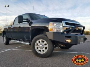 2014 CHEVY HD2500 FAB FOURS FRONT BUMPER WITH HOOP (BUILD#83833)