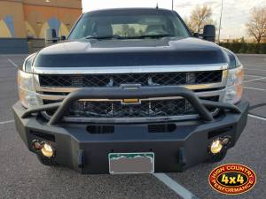 2014 CHEVY HD2500 FAB FOURS FRONT BUMPER WITH HOOP (BUILD#83833) - Image 2