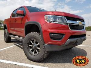 "GMC / CHEVROLET - CHEVY / GMC COLORADO/CANYON (ALL YEARS) - HCP 4x4 Vehicles - 2016 CHEVY COLORADO BDS 5.5"" FOX COILOVER SUSPENSION LIFT (BUILD#81831)"