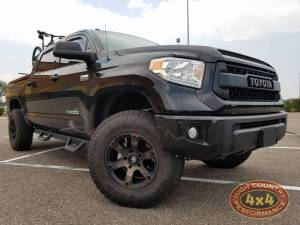 "TOYOTA - TOYOTA TUNDRA  (2014-2018) - HCP 4x4 Vehicles - 2016 TOYOTA TUNDRA TOYTEC 3"" BOSS COILOVERS WITH SPC UCA'S (BUILD#78697)"