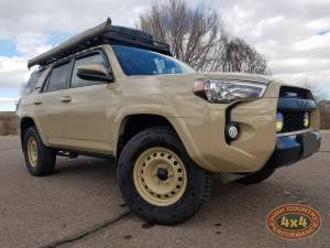TOYOTA - TOYOTA 4RUNNER 5TH GENERATION (2010-2018) - HCP 4x4 Vehicles - 2016 TOYOTA 4RNNER TRD PRO RIGID INDUSTRIES LIGHTS AND FRONT RUNNER ROOF RACK (BUILD#83893)