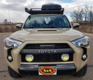HCP 4x4 Vehicles - 2016 TOYOTA 4RNNER TRD PRO RIGID INDUSTRIES LIGHTS AND FRONT RUNNER ROOF RACK (BUILD#83893) - Image 2