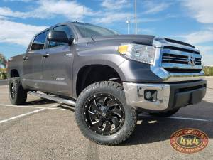 "TOYOTA - TOYOTA TUNDRA  (2014-2018) - HCP 4x4 Vehicles - 2017 TOYOTA TUNDRA TOYTEC BOSS 3"" COILOVER SUSPENSION LIFT (BUILD#83508)"