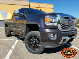 GMC / CHEVROLET - CHEVY / GMC 2500/3500 PICKUPS (2011-2018) - HCP 4x4 Vehicles - 2016 GMC SIERRA HD2500 DENALI READYLIFT LEVELING KIT WIT COGNIO UCA'S AND BILSTEIN SHOCKS (BUILD#82721)