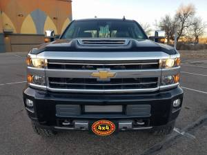 "HCP 4x4 Vehicles - 2018 CHEVY SILVERADO HD3500 FABTECH 4"" SUSPENSION LIFT DIRT LOGIC SHOCKS (BUILD#84712) - Image 2"