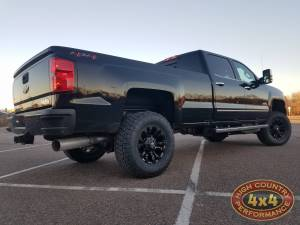 "2018 CHEVY SILVERADO HD3500 FABTECH 4"" SUSPENSION LIFT DIRT LOGIC SHOCKS (BUILD#84712)"