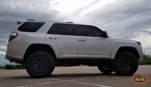 "2016 TOYOTA 4RUNNER TRAIL EDITION TOYTEC BOSS 3"" COILOVER SUSPENSION LIFT WITH SPC UCA'S (BUILD#80892)"