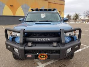 HCP 4x4 Vehicles - 2018 TOYOTA 4RUNNER TRD PRO ARB SUMMIT BUMPER AND RHINO RACK PLATFORM (BUILD#84762/84534) - Image 2