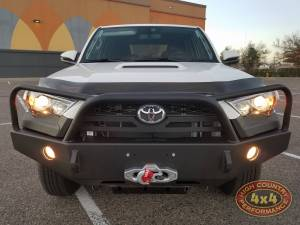 HCP 4x4 Vehicles - 2017 TOYOTA 4RUNNER SHROCK WORKS SKID PLATES FRONT BUMPER ROCK SLIDERS (BUILD#83713) - Image 2