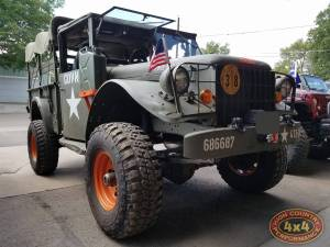 HCP 4x4 Vehicles - 1954 DODGE M37 CUSTOM WINCH MOUNT (BUILD#82476)