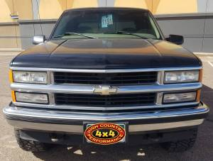 1997 CHEVY 1500 ZONE LEVELING KIT WHEELS AND TIRES (BUILD#85020)