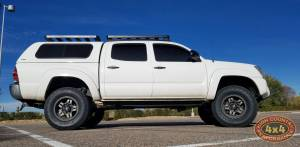 "2012 TOYOTA TACOMA TOYTEC 3"" BOSS SUSPENSION LIFT WITH SPC UPPER CONTROL ARMS (BUILD#83439)"