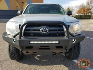"2005 TOYOTA TACOMA TOYTEC 3"" BOSS SUSPENSION LIFT WITH PELFRYBILT BUMPER (BUILD#83682)"