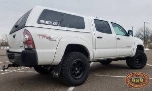 "2009 TOYOTA TACOMA TOYTEC BOSS 3"" SUSPENSION LIFT WITH SPC UPPER CONTROL ARMS (BUILD#84896)"