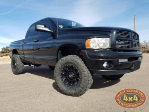 RAM - DODGE RAM 2500/3500 PICKUP TRUCKS (2003-2008) - HCP 4x4 Vehicles - 2004 DODGE RAM 2500 XD829 17X9 WHEELS AND BAK INDUSTRIES X2 TONNEAU COVER (BUILD#85107)