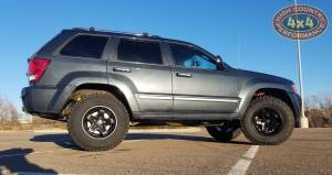 2008 JEEP GRAND CHEROKEE WK OLD MAN EMU LIFT KIT WITH JBA UPPER CONTROL ARMS (BUILD#84674)