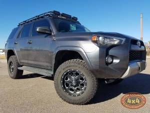 "TOYOTA - TOYOTA 4RUNNER 5TH GENERATION (2010-2018) - HCP 4x4 Vehicles - 2016 TOYOTA 4RUNNER TOYTEC BOSS 3"" COILOVER SUSPENSION WITH SPC UCA'S (BUILD#85099)"