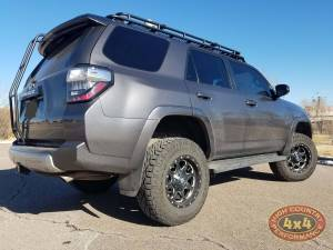 "2016 TOYOTA 4RUNNER TOYTEC BOSS 3"" COILOVER SUSPENSION WITH SPC UCA'S (BUILD#85099)"