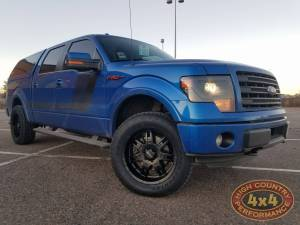 FORD - FORD F150 TRUCKS (2009-2014) - HCP 4x4 Vehicles - 2014 FORD F150 DAYSTAR LEVELING KIT WITH MICKEY THOMPOSON WHEELS (BUILD#84598)