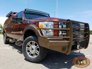 "FORD - FORD F250/F350 SUPER DUTY TRUCKS (2011-2016) - HCP 4x4 Vehicles - 2016 FORD F350 SUPER DUTY CARLI 2.5"" KING COILOVER SUSPENSION (BUILD#8037)"