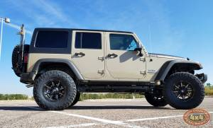 "HCP 4x4 Vehicles - 2017 JEEP JKUR AEV 3.5"" DUAL SPORT SUSPENSION 35"" NITTO TRAILGRAPPLER TIRES AND AEV REAR TIRE CARRIER (BUILD#83529) - Image 3"