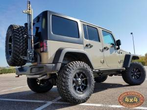 "HCP 4x4 Vehicles - 2017 JEEP JKUR AEV 3.5"" DUAL SPORT SUSPENSION 35"" NITTO TRAILGRAPPLER TIRES AND AEV REAR TIRE CARRIER (BUILD#83529) - Image 4"