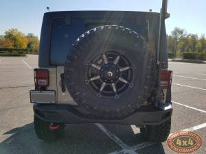 "2017 JEEP JKUR AEV 3.5"" DUAL SPORT SUSPENSION 35"" NITTO TRAILGRAPPLER TIRES AND AEV REAR TIRE CARRIER (BUILD#83529)"
