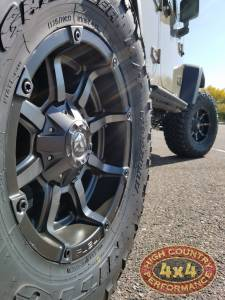 "HCP 4x4 Vehicles - 2017 JEEP JKUR AEV 3.5"" DUAL SPORT SUSPENSION 35"" NITTO TRAILGRAPPLER TIRES AND AEV REAR TIRE CARRIER (BUILD#83529) - Image 7"