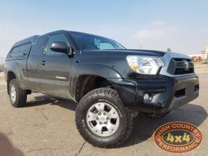 TOYOTA - TOYOTA TACOMA (2005-2016) - HCP 4x4 Vehicles - 2013 TOYOTA TACOMA ICON VEHICLE DYNAMICS FRONT COILOVERS LEVELED (BUILD$#85229)