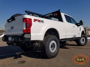 """2018 FORD F350 CARLI PINTOP 4.5"""" SUSPENSION WITH TRAILREADY BEADLOCKS ON NITTO EXO GRAPPLERS (BUILD#83486)"""