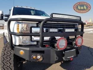 """HCP 4x4 Vehicles - 2018 FORD F350 CARLI PINTOP 4.5"""" SUSPENSION WITH TRAILREADY BEADLOCKS ON NITTO EXO GRAPPLERS (BUILD#83486) - Image 5"""